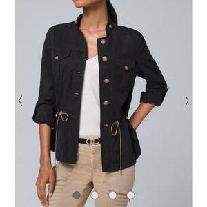 White House Black Market Soft Utility Jacket